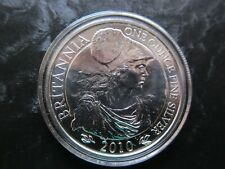 52010 Silver Britannia UK 1oz £2 in airtite capsule