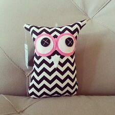 ❤️Owl Softies ❤️ Black and White Chevron 18cm Owls | Baby | Girls | Gifts | Toys