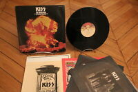The Originals Kiss Hard Rock, Glam Vinyl LP Japan + OBI Casablanca