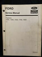 Ford New Holland Service Manual Tractor 1200,1300,1500, 1700,1900 Vol 1,2 *1729