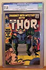 JOURNEY INTO MYSTERY #120 CGC 7.0 - OW/W PAGES *ABSORBING MAN APPEARANCE**
