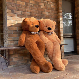 Cuddly Soft Plush Huge Giant Jumbo Stuffed Animal Toy Teddy Bear 2m 3-color