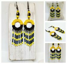 Pendientes artesanales,estilo boho-hippie / Earrings handmade Boho-hippie style