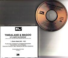 Timbaland & Magoo- Up Jumps Da Boogie PROMO CD 1997 NM Hip Hop 1 Track