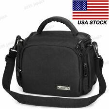 Compact Sling Camera Bag Single Shoulder Case for Canon Nikon Sony Olympus SLR