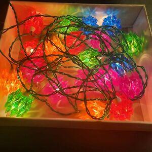 **RARE** PIFCO Diamond Multicoloured Lights (see description)