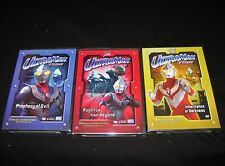 Ultraman Tiga Collection - Vol. 1, 2, 4 - Brand New DVD Sets
