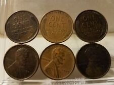 1909 V.D.B Lincoln Wheat Cent Full Roll Of Fifty (50) Coins - Solid Date Roll!