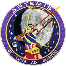 NASA Artemis Commemorative Patch 5""