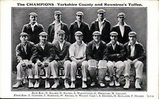 Yorkshire Single Collectable Sport Postcards