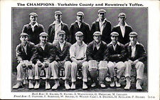 Yorkshire Single Printed Collectable Sport Postcards