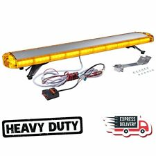 "88LED 47"" Light Bar Warn Emergency Beacon Tow Truck Strobe Response Amber/Yellow"
