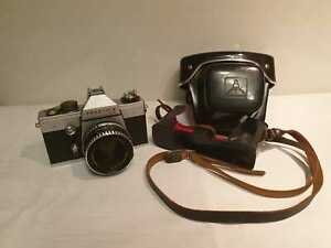 "PENTACON Camera ""Praktica LLC"" made in G.D.R. including leather case"