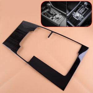 Inner Titanium Gear Shift Box Panel Cover Trim Fit for Mazda 3 2019 2020 Sticker