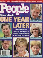 People Magazine August 31 1998 Princess Diana Hillary Clinton Regina King