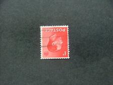 Gb Keviii 1936 1d scarlet Inverted Watermark Sg458Wi Fu