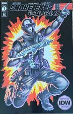 Snake Eyes Deadgame #1 SDCC 2020 Variant IDW LE500 GI Joe Rob Liefeld San Diego