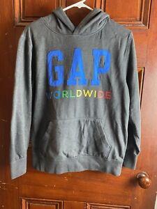 Gap Worldwide Rainbow Hoodie Childrens XXL Spellout
