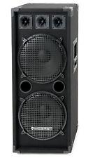 DJ PA Säulen Lautsprecher Disco Box Party Subwoofer System 1000W 2x12