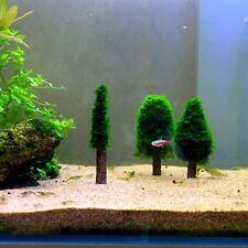 Simulation Xmas Moss Christmas Tree Plant Growing Aquarium Tank Aquascape Decor