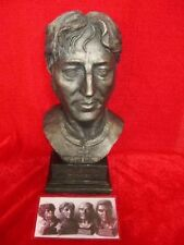 LEGENDS FOREVER JOHN LENNON BEATLES LIMITED EDITION BRONZED BUST FIGURE MODEL