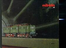 Modellismo Ferrovia catalogo treni Marklin 1986 87 IT 160 pagine