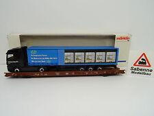 Märklin H0 4741 Niederflurwagen RoLa mit LKW DB TOP/OVP M1102