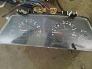 1993-94 Subaru Loyale GL Instrument Gauge Cluster Speedometer MT Manual