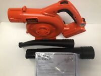 BLACK & DECKER LSW36B 40V MAX Variable-Speed Handheld Sweeper Blower NEW