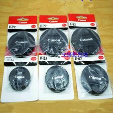 10 PCS New camera 82mm Front Lens Cap for CANON
