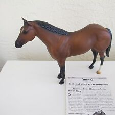 #499 Offspring of King P-234 Breyer Ideal American Quarter Horse w/ Papers MINT