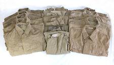 10 Teile DDR NVA Felddienstuniform, 5 x Jacke und 5 x Hose, gebraucht