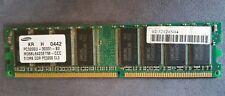 512MB DDR PC3200U Random Access Memory M368L6423ETM-CCC Samsung