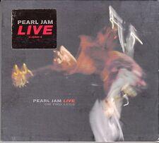 """CD ALBUM DIGIPACK  PEARL JAM """"PEARL JAM LIVE"""""""