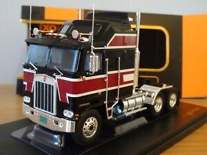 ✅IXO TR071 KENWORTH K100 Aerodyne 1976 Red//Black Truck 1//43