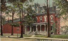 Y.W.C.A. Building in Binghamton NY Postcard 1916