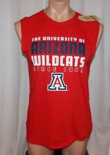 New ARIZONA AZ WILDCATS NCAA Mens Medium The Game SLEEVELESS TANK TOP TEE  Red