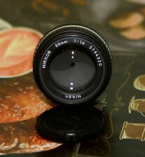 Nikkor Nikon 50mm f1.4 AIs used Lens Manual Nice NIKON 50mm f/1.4 AI-S als ais