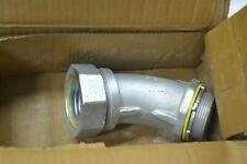 """New Eaton LT25045 Liquidator Liquid Tight Malleable Iron 45 Deg Conduit 2-1/2"""""""