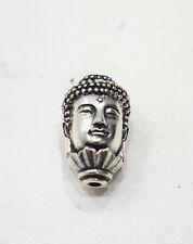Buddha Head Silver Bead Buddha Head