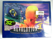 NIB Number Nine Revolution IV Ticket to Ride IV 32MB AGP 2x Card (90-428850-000)