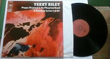 TERRY RILEY Poppy Nogood & the Phantom Band / A Rainbow in Curved Air LP CBS FRA