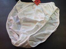 Women Panties,Bikinis GELMART Size S.White Satin Appearance Soft shiny