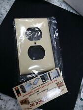 Mulberry   92101   1 Gang Duplex Wallplate  Ivory Lexan (box#4A)