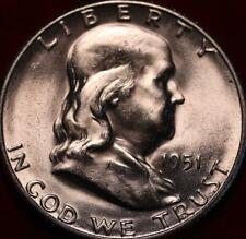 Uncirculated 1951-S San Francisco Mint Silver Franklin Half