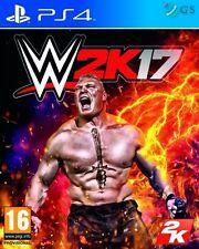 WWE 2K17 PS4 W2K17 * NEW SEALED PAL *