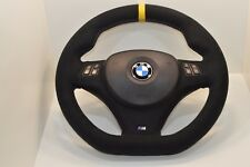 BMW E90 E91 E92 E93 E87 E81 E88 Sport NEW Alcantara Steering Wheel M-Stitching