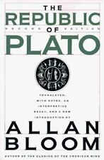 The Republic of Plato by Allan Bloom; Plat?