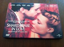 SHAKESPEARE IN LOVE - 1 DVD - STEELBOOK - EDICION COLECCIONISTA