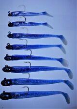 1 Pack JoeBaggs 3/4 Oz. Herring Color Patriot Fish Paddle Tail + 1 Replacement